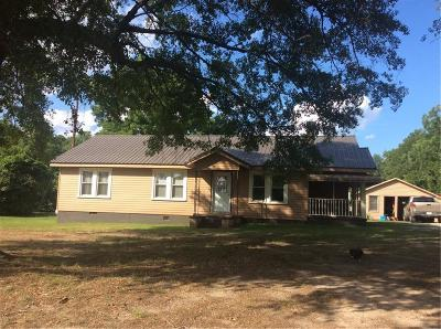 Iva Single Family Home For Sale: 4596 Highway 201 Highway