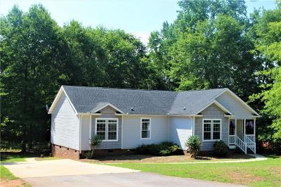 Pendleton Single Family Home Contract-Take Back-Ups: 1320 Five Forks Road