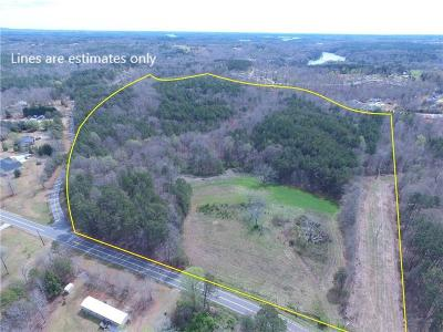 Oconee County, Pickens County Residential Lots & Land For Sale: 00 Burns Mill Road