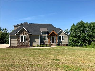 Pickens Single Family Home Contract-Take Back-Ups: 125 Golden Eagle Drive