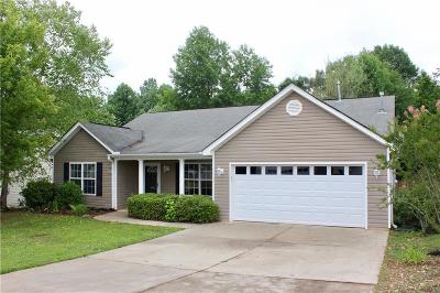 Easley Single Family Home For Sale: 216 Rivers Edge Drive