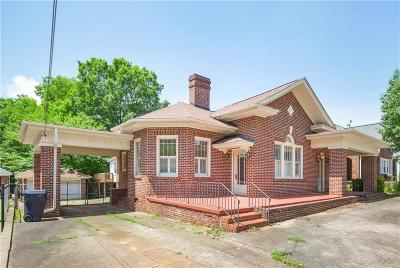 Anderson SC Single Family Home For Sale: $228,500