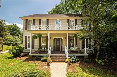 Clemson Single Family Home For Sale: 102 Sedgefield Drive