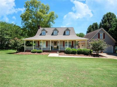 Easley Single Family Home Contract-Take Back-Ups: 105 Briggs Drive