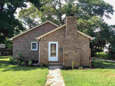 Pickens Single Family Home Contract-Take Back-Ups: 113 Bruce Street