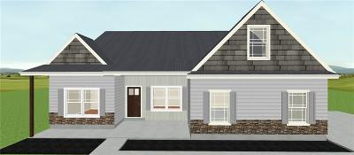 Pickens Single Family Home Contract-Take Back-Ups: 1025 Old Bethlehem School Road