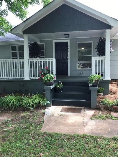 Pickens Single Family Home For Sale: 143 Pendelton Extension