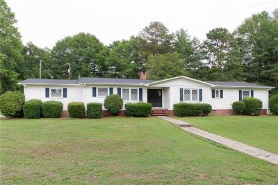 Simpsonville Single Family Home For Sale: 138 Cooper Lake Road