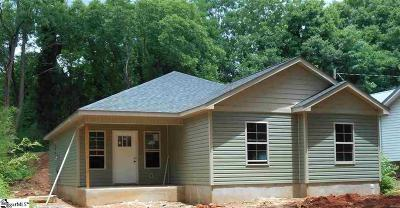 Easley Single Family Home For Sale: 510 W 4th Avenue