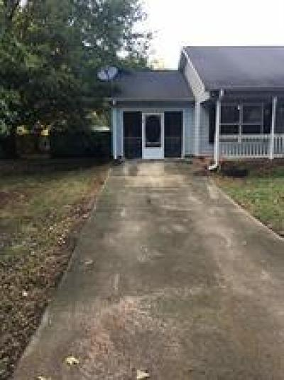 Anderson Single Family Home Contract-Take Back-Ups: 207 Twig Lane