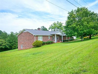 Pickens Single Family Home Contract-Take Back-Ups: 264 Crescent Hill Drive