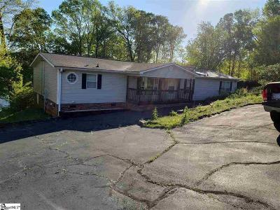 Anderson County, Oconee County, Pickens County Mobile Home For Sale: 113 Point Drive