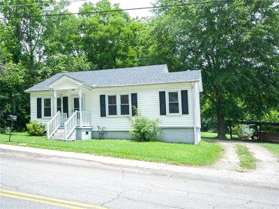 Pickens Single Family Home Contract-Take Back-Ups: 311 S Catherine Street