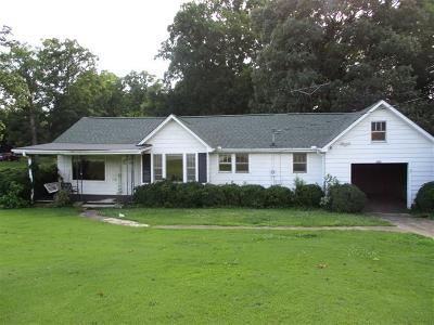 Easley Single Family Home Contract-Take Back-Ups: 1459 Cedar Rock Church Road