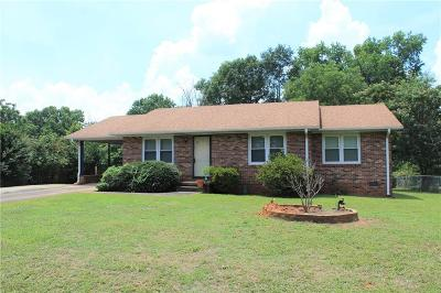 Anderson Single Family Home For Sale: 3504 Woodcone Trail