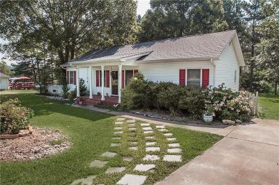 Six Mile Single Family Home For Sale: 331 Stewart Road