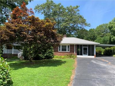 Liberty Single Family Home For Sale: 600 Old Norris Road