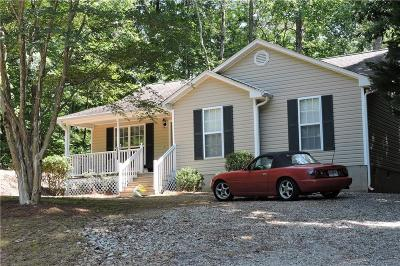 Westminster SC Single Family Home For Sale: $159,900