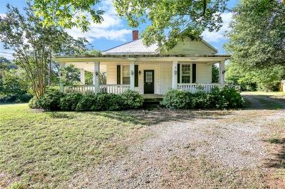 Liberty Single Family Home For Sale: 103 Old Norris Road