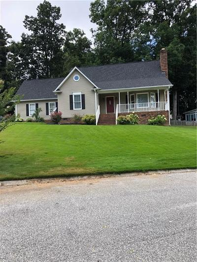 Greenville County Single Family Home For Sale: 303 Cold Branch Way