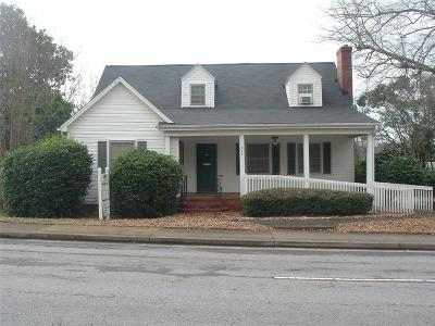 Easley Single Family Home For Sale: 119 Gentry Memorial Highway