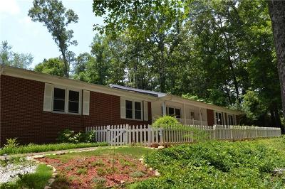 Clemson Single Family Home For Sale: 227 Grove Drive
