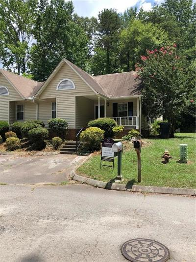 Anderson Single Family Home For Sale: 402 N Pointe Creek