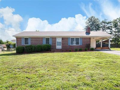 Easley Single Family Home Contract-Take Back-Ups: 207 Evergreen Street