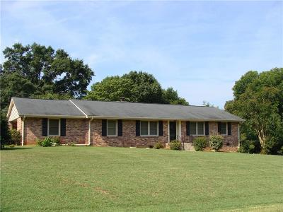 Anderson SC Single Family Home Contract-Take Back-Ups: $147,000