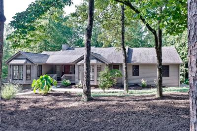 Oconee County Single Family Home Contract-Take Back-Ups: 17 Mainsail Drive