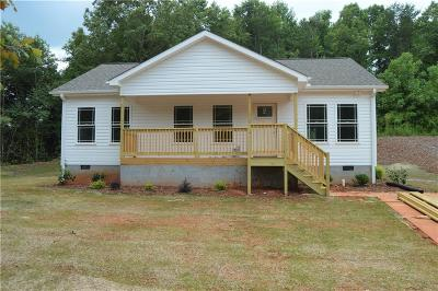 Pickens Single Family Home Contract-Take Back-Ups: 540 Secona Road