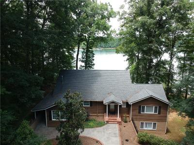 Lavonia, Martin, Toccoa, Fair Play, Westminster Single Family Home For Sale: 250 Bertha Allen Road