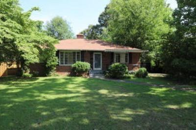 Anderson Single Family Home For Sale: 214 Whitehall Road
