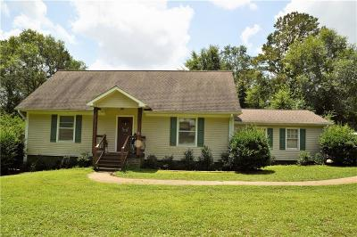 Oconee County Single Family Home For Sale: 294 Carriage Trace