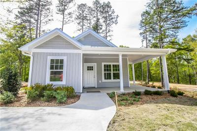 Oconee County Single Family Home Contract-Take Back-Ups: 210 W Woodland Drive