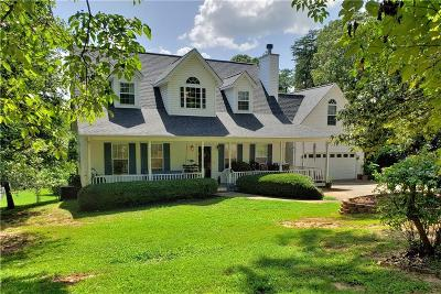 Anderson County, Oconee County, Pickens County Single Family Home For Sale: 223 Waites Lane