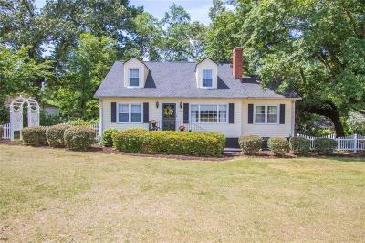 Anderson Single Family Home For Sale: 715 College Avenue
