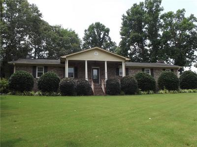 Piedmont Single Family Home For Sale: 122 Dill Drive