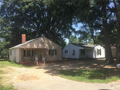 Single Family Home Contract-Take Back-Ups: 2918 Plainview Road