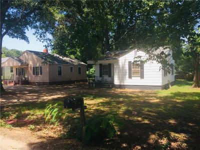 Anderson Single Family Home For Sale: 2916 Plainview Road