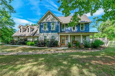 Central Single Family Home For Sale: 607 Issaqueena Trail