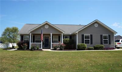 Anderson SC Single Family Home For Sale: $184,500