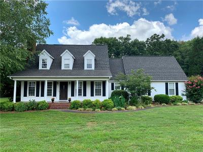 Easley Single Family Home For Sale: 110 Richland Drive