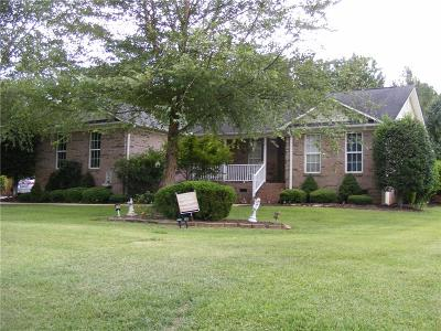 Pelzer Single Family Home For Sale: 106 Whistle Way