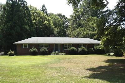 Anderson SC Single Family Home For Sale: $134,500