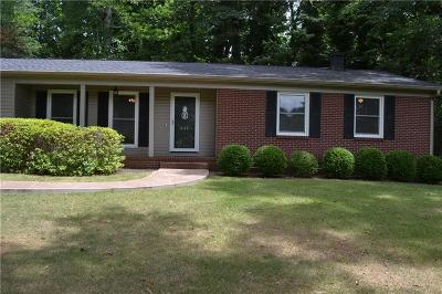 Clemson Single Family Home For Sale: 344 Issaqueena Trail