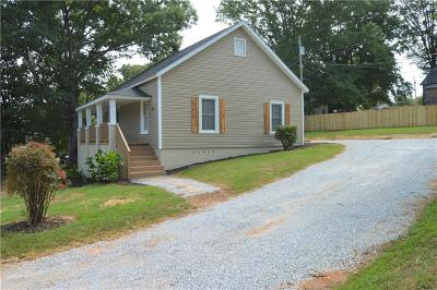 Easley Single Family Home For Sale: 307 Hill Street