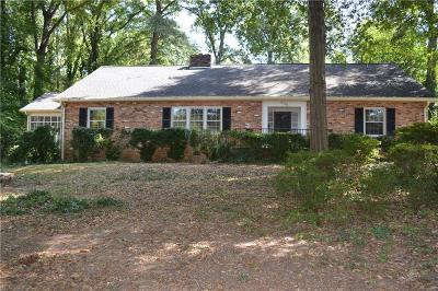 Anderson Single Family Home For Sale: 904 Hiawatha Drive