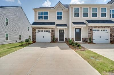 Simpsonville Townhouse For Sale: 217 Clearwood Drive