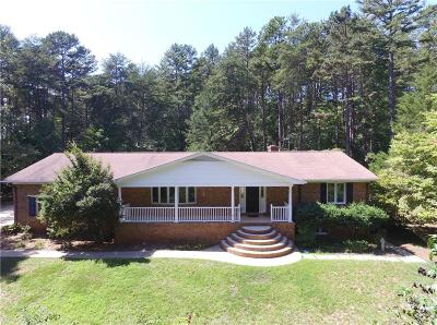 Oconee County, Pickens County Single Family Home For Sale: 18024 Mallard Bend Road